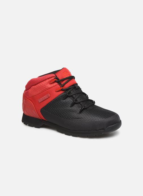Chaussures à lacets Timberland Euro Sprint Fabric Noir vue détail/paire