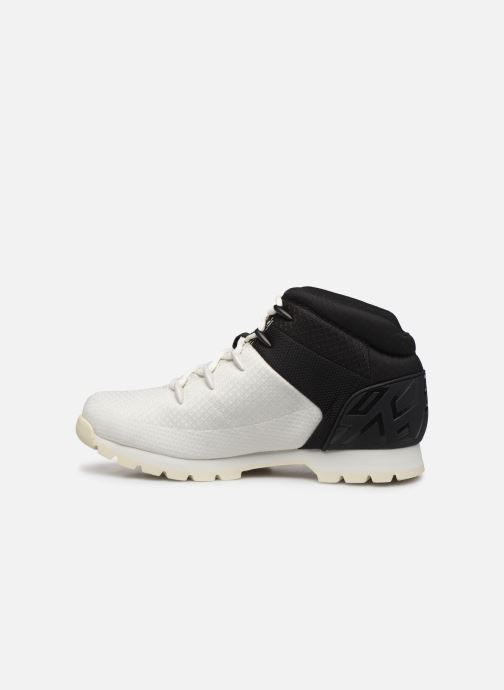 Chaussures à lacets Timberland Euro Sprint Fabric Blanc vue face