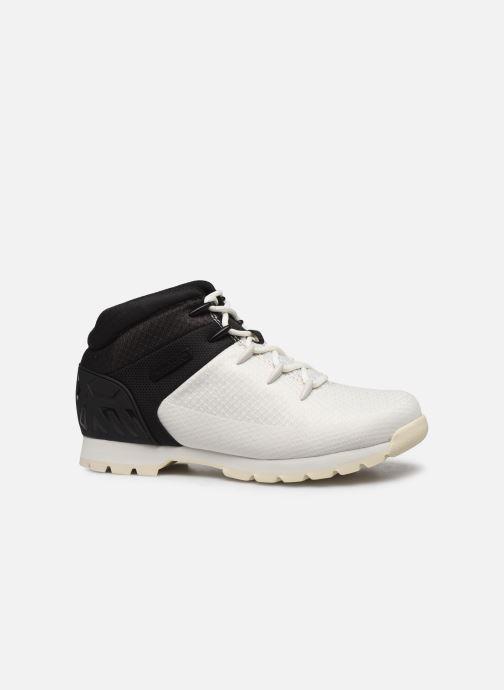Chaussures à lacets Timberland Euro Sprint Fabric Blanc vue derrière