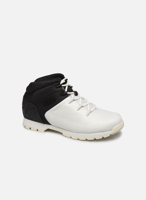 Chaussures à lacets Timberland Euro Sprint Fabric Blanc vue détail/paire