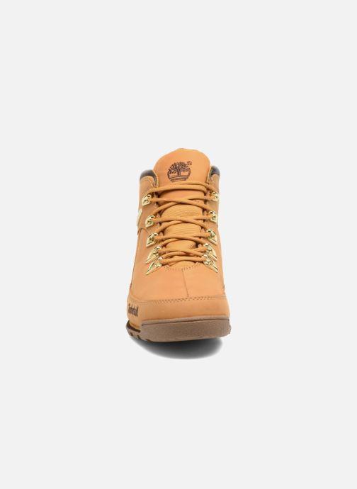 Stiefeletten & Boots Timberland Eurorock beige schuhe getragen