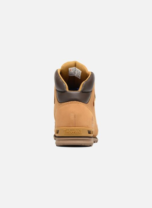 Ankle boots Timberland Eurorock Beige view from the right