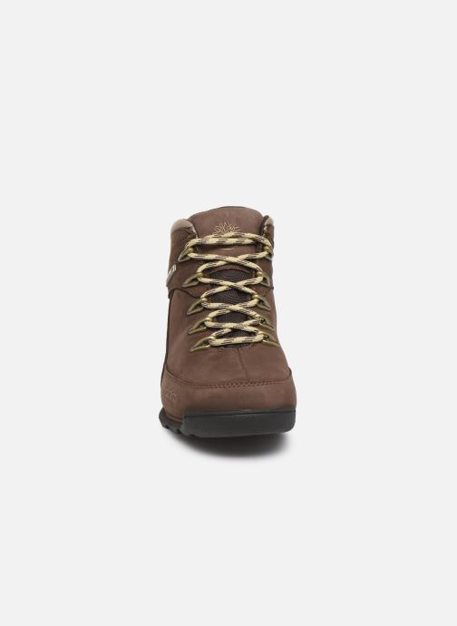 Bottines et boots Timberland Eurorock Marron vue portées chaussures