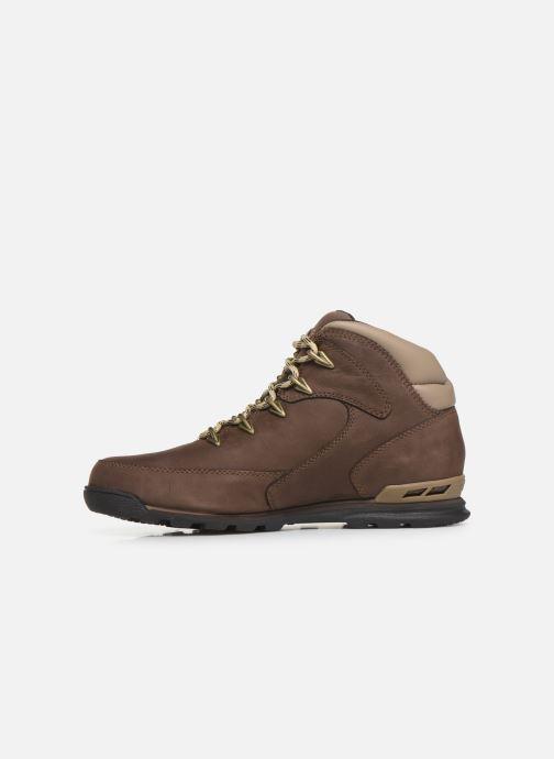 Bottines et boots Timberland Eurorock Marron vue face