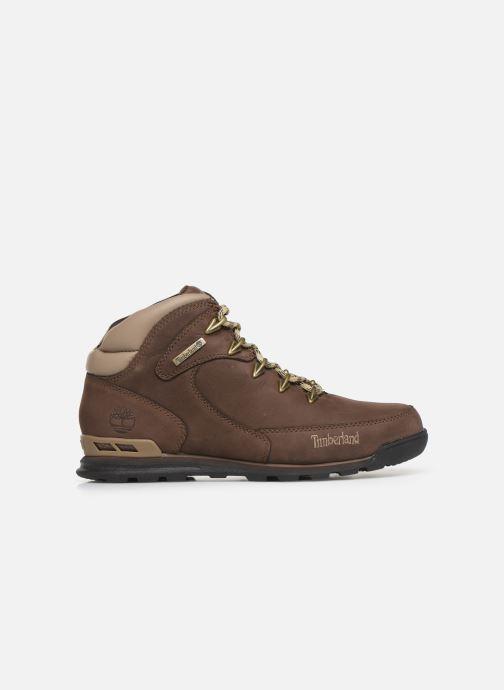 Boots en enkellaarsjes Timberland Eurorock Bruin achterkant