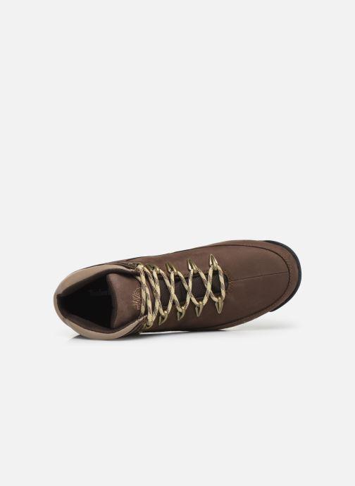 Boots en enkellaarsjes Timberland Eurorock Bruin links