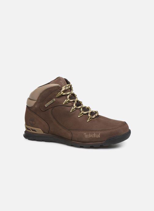 Bottines et boots Timberland Eurorock Marron vue détail/paire