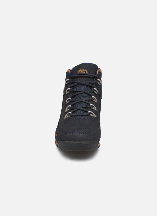 Bottines et boots Timberland Eurorock Bleu vue portées chaussures