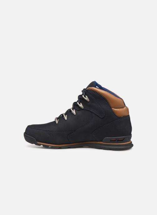 Bottines et boots Timberland Eurorock Bleu vue face
