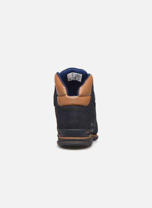 Bottines et boots Timberland Eurorock Bleu vue droite