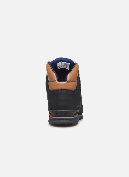Ankle boots Timberland Eurorock Blue view from the right