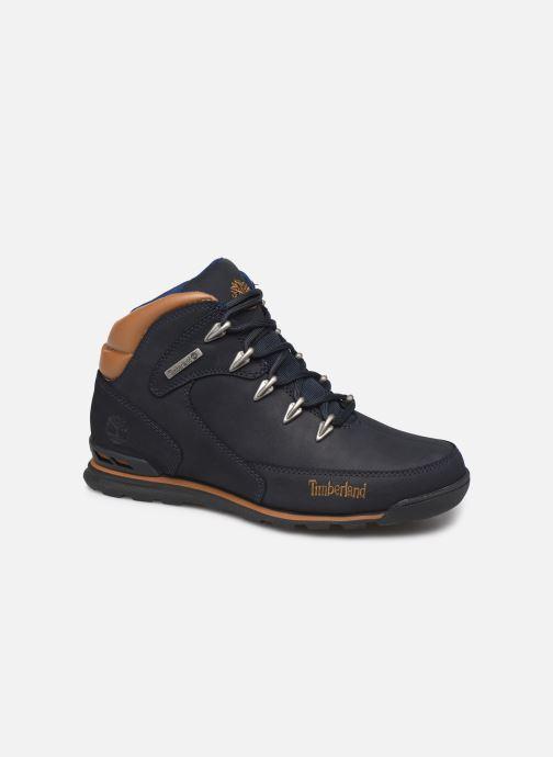 Boots en enkellaarsjes Timberland Eurorock Blauw detail