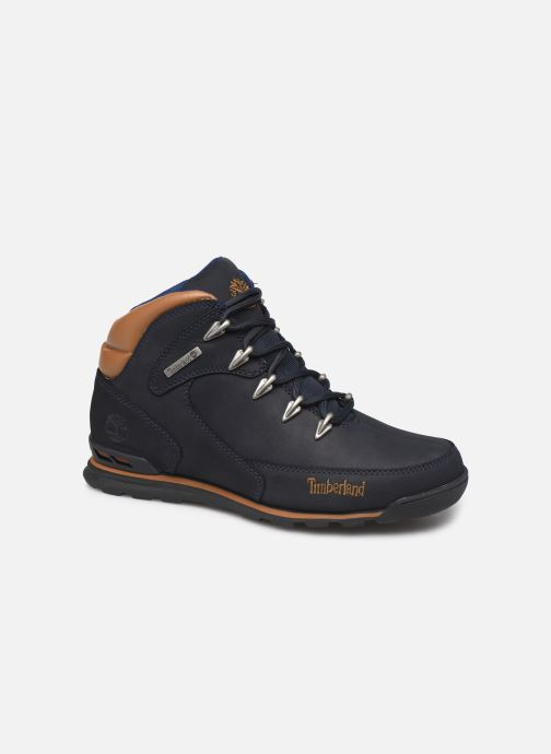 Ankle boots Timberland Eurorock Blue detailed view/ Pair view
