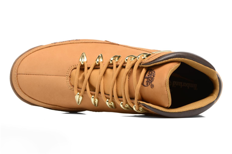 Bottines et boots Timberland Eurorock Beige vue gauche