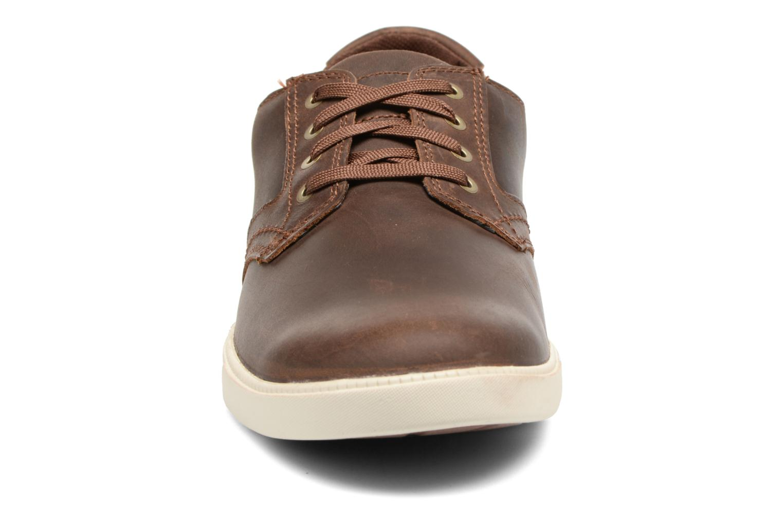 Sneaker Timberland Fulk LP Ox braun schuhe getragen