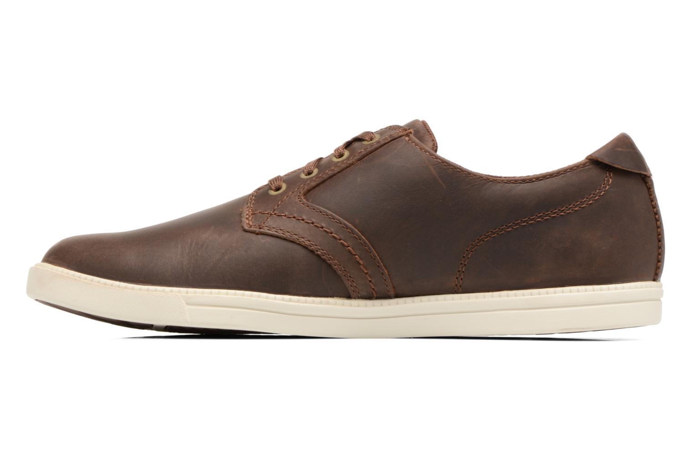 Sneaker Timberland Fulk LP Ox braun ansicht von vorne