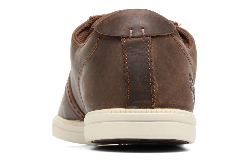 Sneaker Timberland Fulk LP Ox braun ansicht von rechts