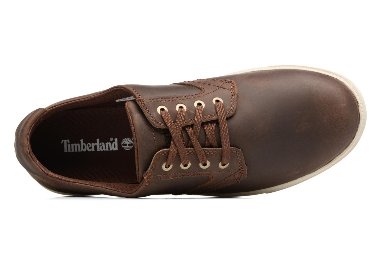 Sneaker Timberland Fulk LP Ox braun ansicht von links