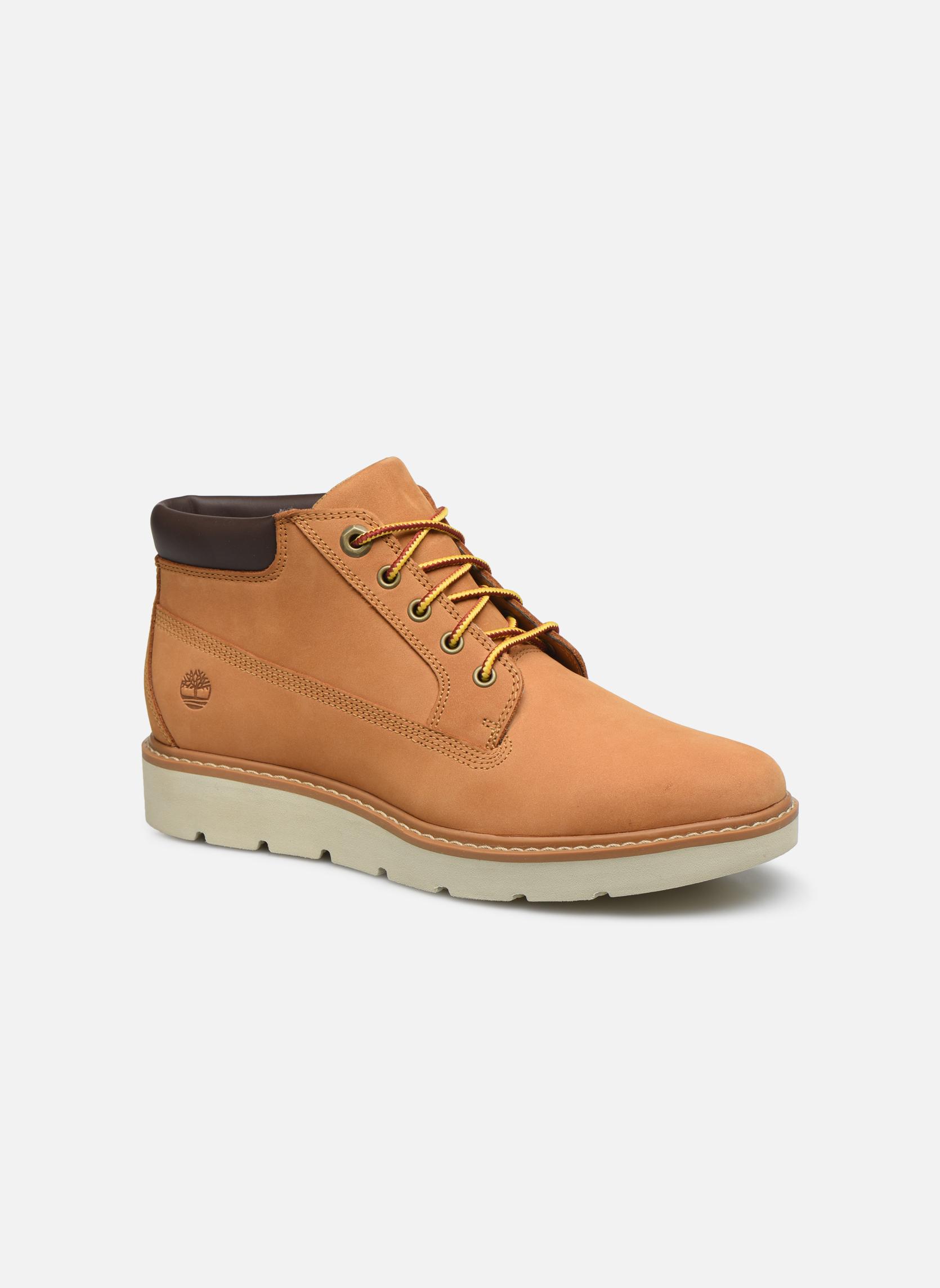 Bottines et boots Timberland Kenniston Nellie Marron vue détail/paire