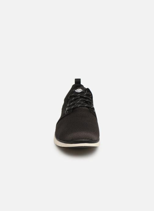 Sneakers Timberland Killington L/F Oxford Nero modello indossato