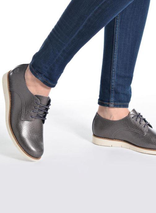 Zapatos con cordones Timberland Lakeville Ox Gris vista de abajo