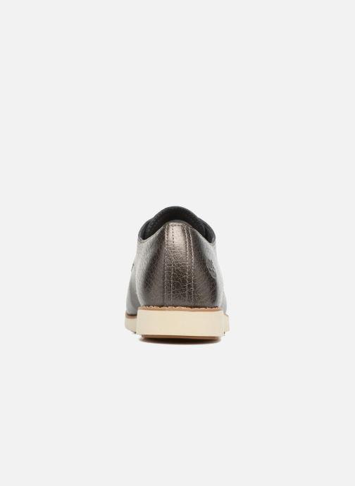Zapatos con cordones Timberland Lakeville Ox Gris vista lateral derecha