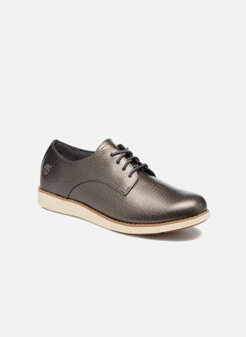 Zapatos con cordones Timberland Lakeville Ox Gris vista de detalle / par