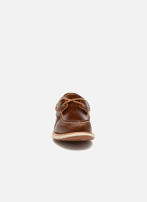 Lace-up shoes Timberland Tidelands 2 Eye Brown model view