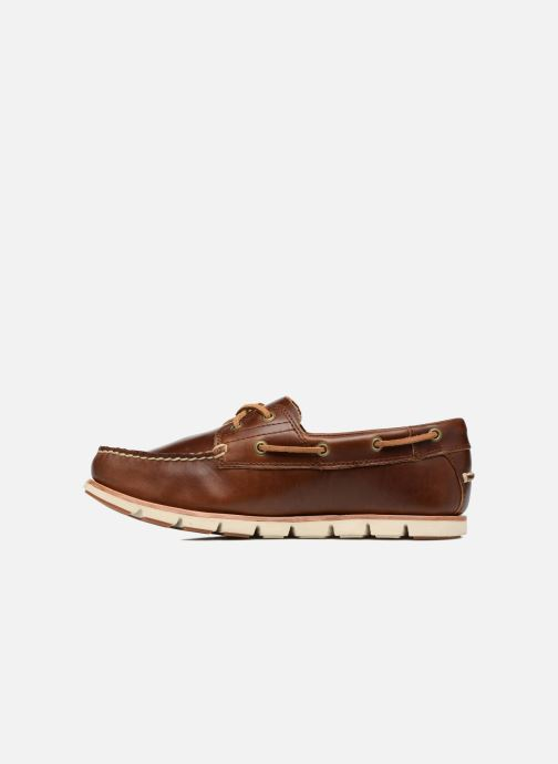 Lace-up shoes Timberland Tidelands 2 Eye Brown front view