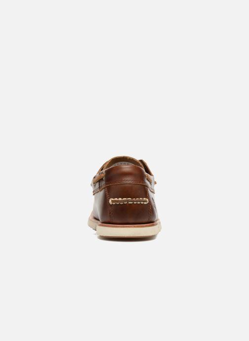 Zapatos con cordones Timberland Tidelands 2 Eye Marrón vista lateral derecha