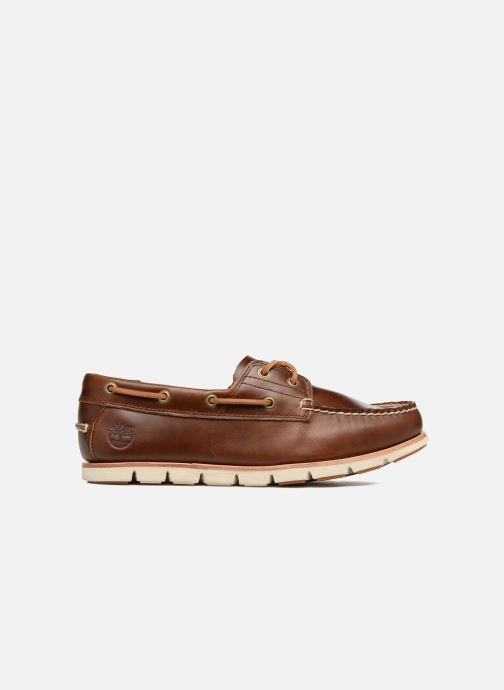 Lace-up shoes Timberland Tidelands 2 Eye Brown back view