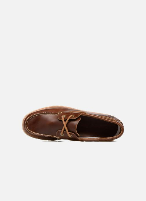 Zapatos con cordones Timberland Tidelands 2 Eye Marrón vista lateral izquierda