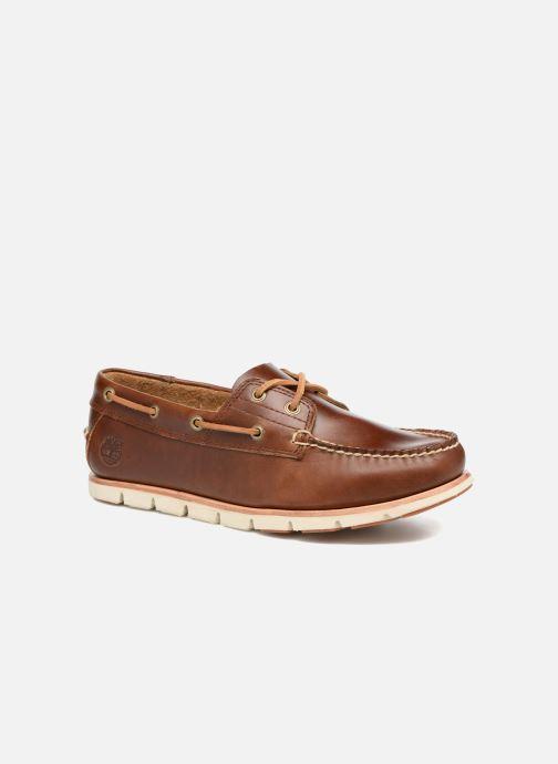 Zapatos con cordones Timberland Tidelands 2 Eye Marrón vista de detalle / par