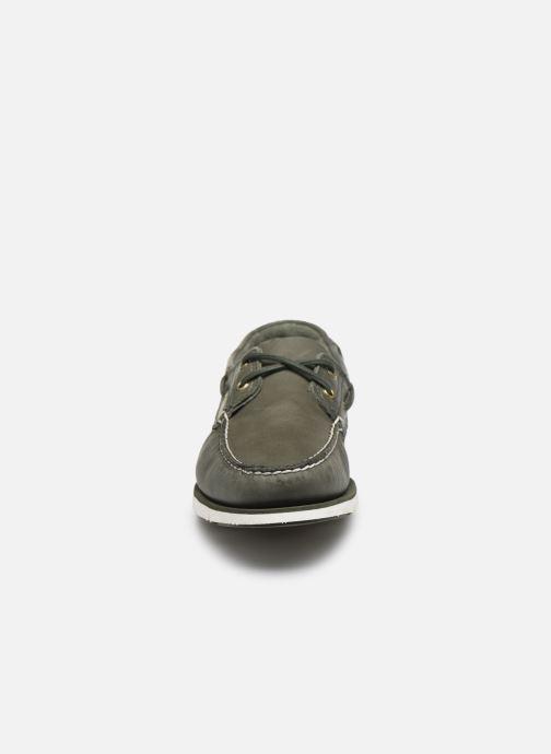 Chaussures à lacets Timberland Tidelands 2 Eye Vert vue portées chaussures