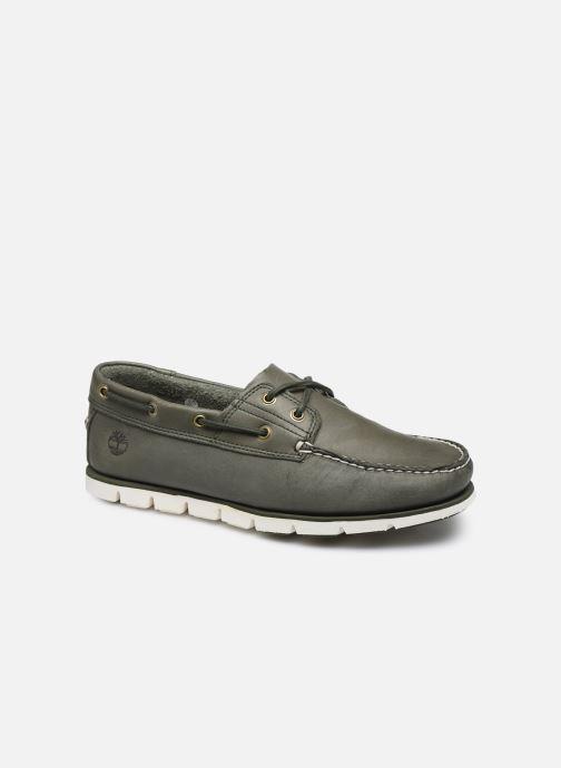 Chaussures à lacets Timberland Tidelands 2 Eye Vert vue détail/paire