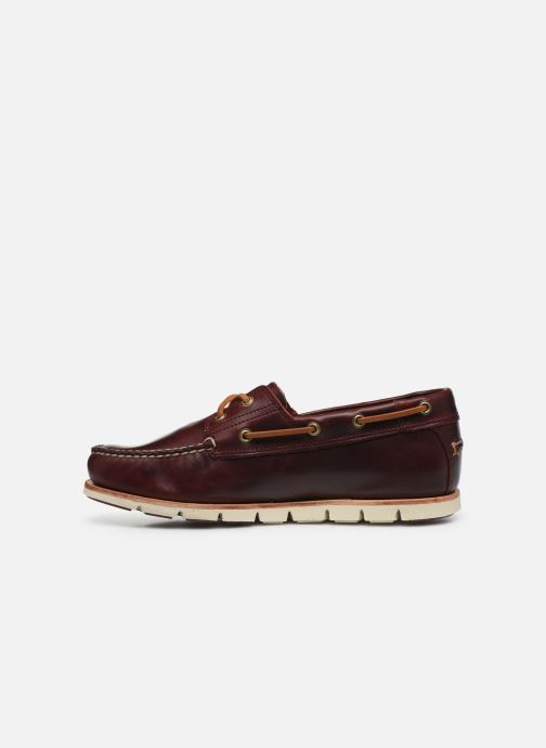Lace-up shoes Timberland Tidelands 2 Eye Burgundy front view
