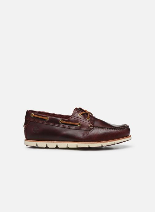 Lace-up shoes Timberland Tidelands 2 Eye Burgundy back view