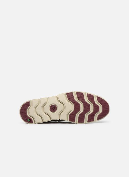 Lace-up shoes Timberland Tidelands 2 Eye Burgundy view from above