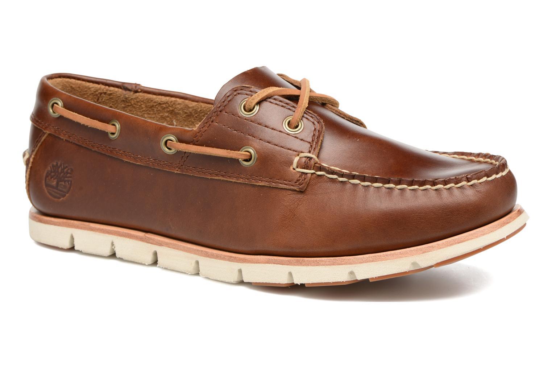 Chaussures à lacets Timberland Tidelands 2 Eye Marron vue détail/paire