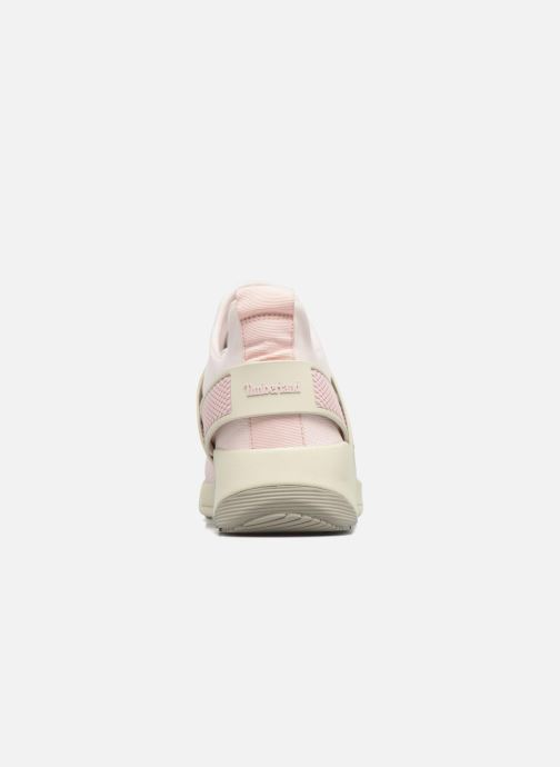 Trainers Timberland Kiri Knitted W Pink view from the right