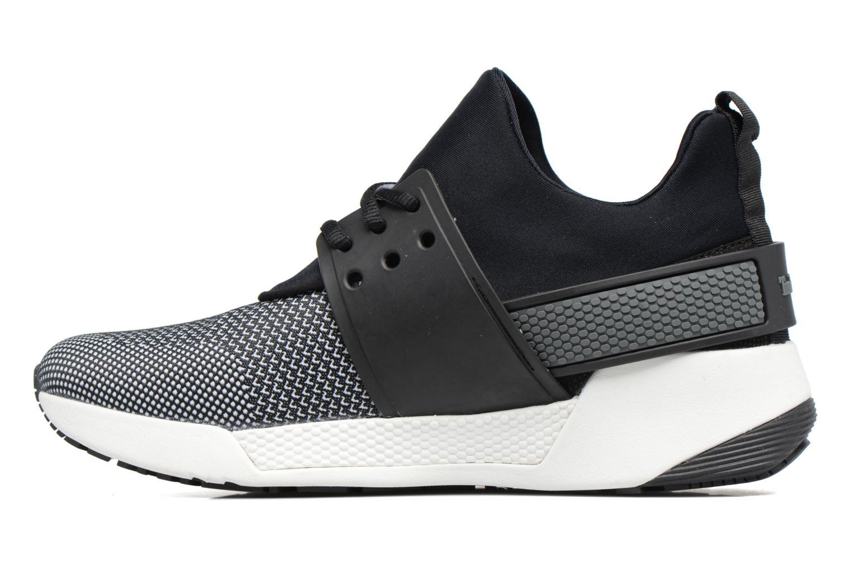 Sneaker Timberland Kiri Knitted W schwarz ansicht von vorne