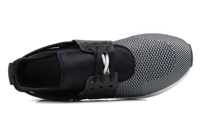 Sneaker Timberland Kiri Knitted W schwarz ansicht von links