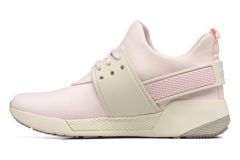 Sneaker Timberland Kiri Knitted W rosa ansicht von vorne