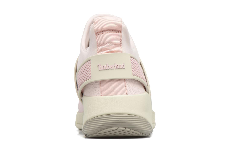 Sneaker Timberland Kiri Knitted W rosa ansicht von rechts