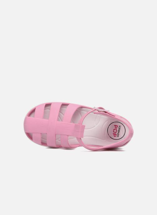 Sandali e scarpe aperte SARENZA POP Romy Rosa immagine sinistra
