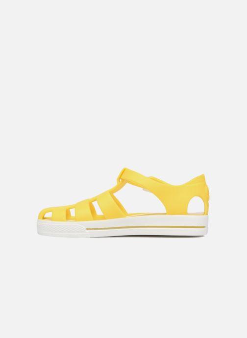 Sandalen SARENZA POP Romy gelb ansicht von vorne