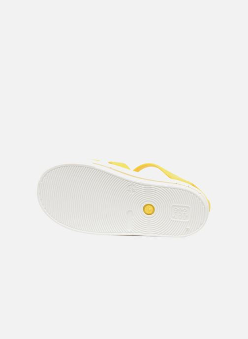 Sandales et nu-pieds SARENZA POP Romy Jaune vue haut
