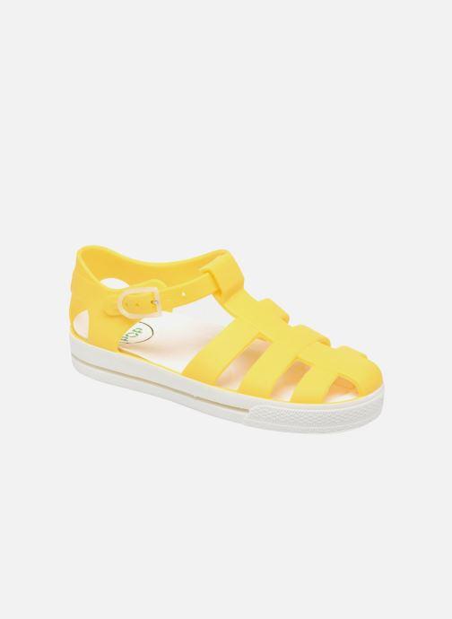 Sandaler SARENZA POP Romy Gul detaljeret billede af skoene