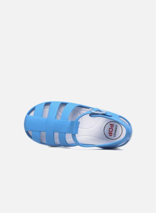 Sandales et nu-pieds SARENZA POP Romy Bleu vue gauche