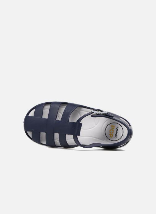 Sandali e scarpe aperte SARENZA POP Romy Azzurro immagine sinistra